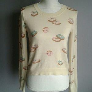 LC Lauren Conrad Donut Sweater